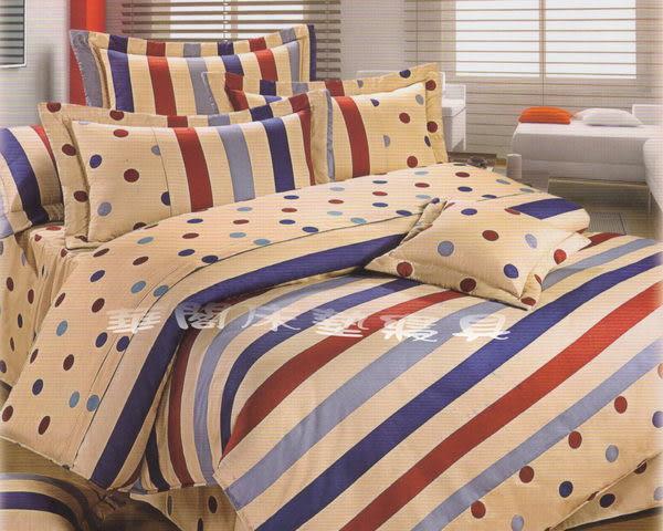 *睡美人寢具工坊*《台灣精品.簡單生活-米》三件式雙人鋪棉床包【鋪棉床包+枕套*2】5*6.2