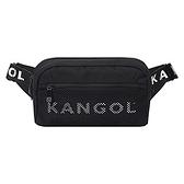 KANGOL 黑色輕便腰包-NO.6125178220