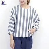 【秋冬新品】American Bluedeer - 條紋平織上衣 二色