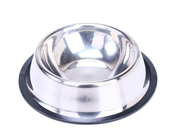 TwinS高級寵物純色不鏽鋼碗22cm(下口外徑) 狗碗貓碗【現貨+預購】上市促銷 我最便宜!
