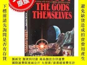 二手書博民逛書店上帝自己罕見英文原版 The Gods Themselves 阿