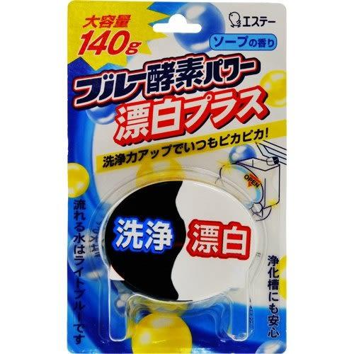 日本雞仔牌馬桶用藍白酵素+漂白消臭劑120g