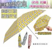 柚柚的店【56008-189自動黑膠開收傘】韓國正版自動開收傘 折疊傘 抗UV傘