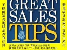二手書博民逛書店1,200罕見Great Sales Tips for Real Estate ProsY410016 Chr