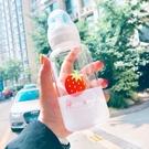 玻璃杯 韓國可愛奶瓶水杯成人創意個性玻璃杯韓版女學生便攜杯子隨手杯 晶彩 99免運