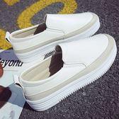(全館一件免運)DE shop~(NE-2233)懶人百搭厚底樂福鞋平底厚底鞋