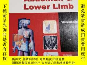 二手書博民逛書店anatomy罕見of abdomen and lower li