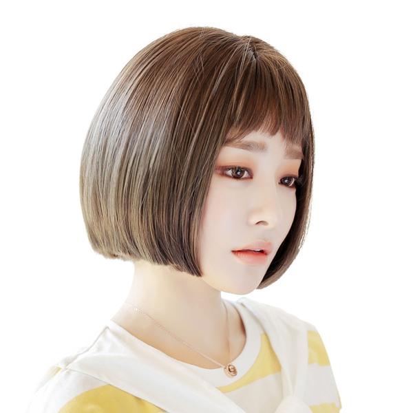 短瀏海 學生頭 高仿真 清新無害女孩 BOBO頭 短髮【MB484】☆雙兒網☆
