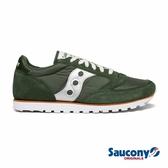 SAUCONY JAZZ LOWPRO 經典復古男鞋-孔雀石綠x太空銀