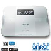 歐姆龍HBF-254C白藍芽智慧體重體脂計(另售HBF-701)+熊本熊不鏽鋼保溫便當盒