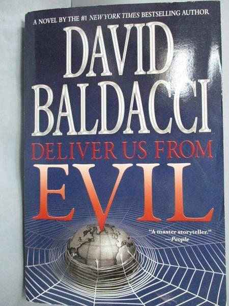 【書寶二手書T9/原文書_YBD】Deliver us from evil_David Baldacci