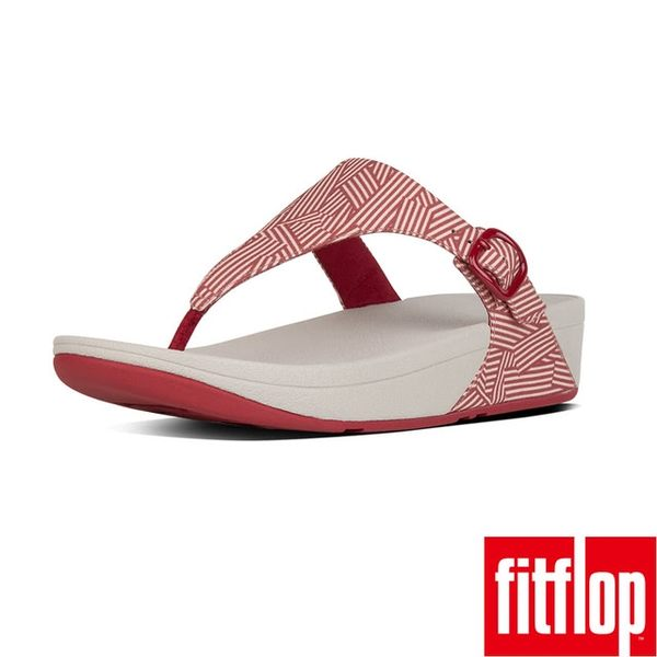 【FitFlop TM】THE SKINNY TM CANVAS(紅色)