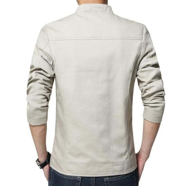 西装外套 秋裝春夏季男人休閒西裝薄款外套單件上衣中年男士西服30-40