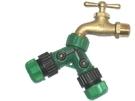 美規銅製四分水龍頭轉接美規六分水管雙通開關球閥