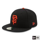 NEW ERA 59FIFTY 5950 MLB 球員帽 巨人 _客場 黑 棒球帽