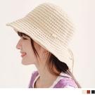 《ZB1223》編織造型休閒草帽漁夫帽 OrangeBear