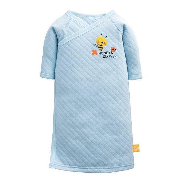 童裝 現貨 冬季厚空氣棉小童長睡袍-03款淺藍色【80230】