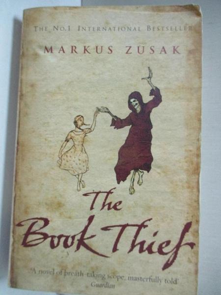 【書寶二手書T6/原文小說_GI1】The Book Thief_Markus Zusak