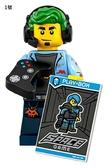 樂高LEGO Minifigures 第19彈 人偶組 人偶包 1號 Video Game Champ 拆袋檢查全新販售 71025 TOYeGO 玩具e哥