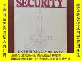 二手書博民逛書店Snow罕見national security enduring problems of u.s.defense