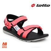 【LOTTO】女款 休閒涼鞋-粉色(L6162)全方位跑步概念館