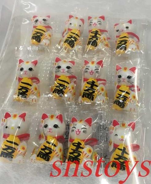 sns 古早味 進口食品 巧克力 招財貓 招財貓巧克力 巧克力球 (39公克/12包) 產地 日本