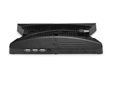 [哈GAME族]滿399免運費 可刷卡 PS4 PRO SLIM薄機 2in1 多功能風扇直立架 支撐架 散熱 KJHPS4PRO-010