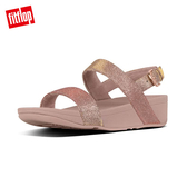 FitFlop】GLITZY BACK-STRAP SANDALS 經典水鑽後帶涼鞋-女(玫瑰金)