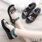 士媽媽鞋子中年中跟坡跟中老年人鞋百搭平底