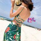 ★草魚妹★V294長裙洋裝綠水飛逸長裙子可搭泳衣正品,單洋裝售價680元