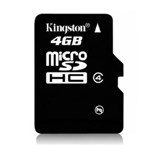 金士頓4G手機記憶卡MICRO儲存SD卡TF4G平板音箱唱戲機內存4GWL63【雅居屋】