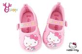Hello kitty 室內鞋 小童 輕量 MIT寶寶休閒鞋 H7803#粉紅◆OSOME奧森鞋業