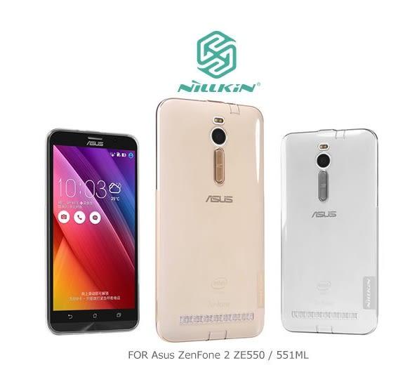 出清→NILLKIN Asus ZenFone 2 ZE550/551ML 本色系列TPU軟套 軟殼 透色套