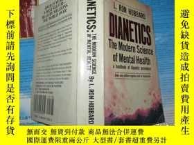二手書博民逛書店Dianetics:The罕見Modern Science of Mental Health【戴尼提:現代心靈健康