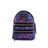 【MARC  JACOBS】Biker尼龍 後背包(中款)(藍色+紅星星) M0009516 470