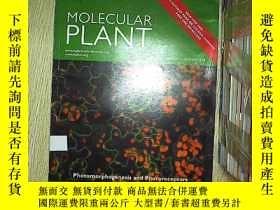 二手書博民逛書店MOLECULAR罕見PLANT VOLUME 1 NUMBER