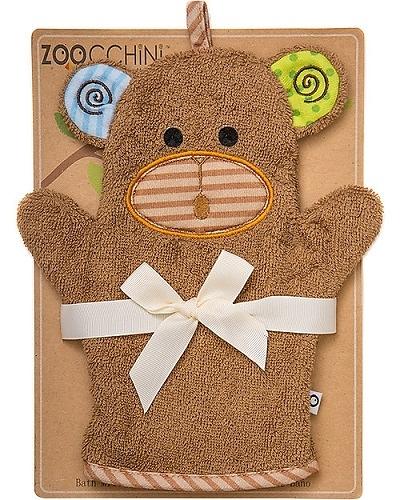 美國Zoocchini  動物幼兒沐浴手套-猴子