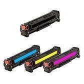 HP 副廠相容碳粉匣CF211A藍色/CF212A黃色/CF213A紅色 單支任選131A(標準量1,500張)