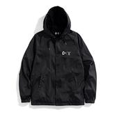 Y.A.S X Challenge聯名款 經典教練外套-黑