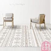 80*120cm 地毯簡約臥室沙發床邊地墊/摩洛哥風滿鋪定制【匯美優品】