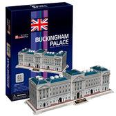A10141  【3D Puzzle 立體拼圖】世界建築精裝版-英國倫敦白金漢宮