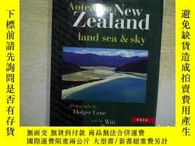 二手書博民逛書店AOTEAROA罕見NEW ZEALAND LAND SEA &