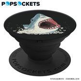 鯊魚【PopSockets泡泡騷】美國時尚多功能手機支架