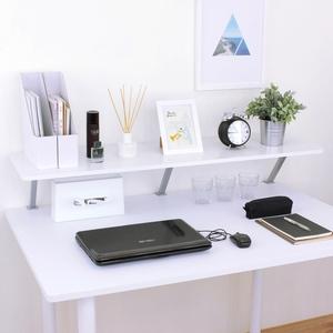 【頂堅】寬120公分(Z型)桌上型置物架/螢幕架(三色可選)素雅白色