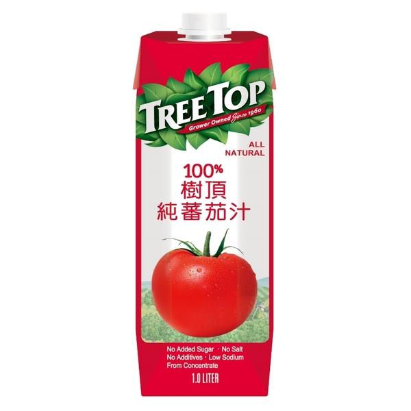 樹頂純番茄汁1000ml/瓶*2瓶【合迷雅好物超級商城】