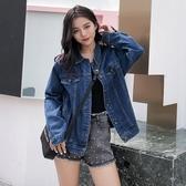 牛仔外套女2019春秋季裝韓版新款BF寬鬆顯瘦港味學生百搭網紅上衣