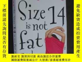 二手書博民逛書店Size罕見14 Is Not Fat Either: A He