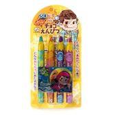 日本 不二家 巧克筆 附玩具