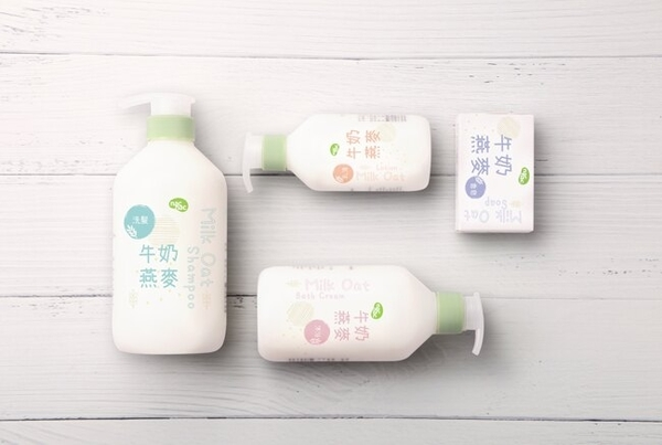 nac nac (新) 牛奶燕麥沐浴乳400ml