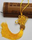 中國結吊飾批發(流蘇菠蘿頭款)黃色 ~ ...